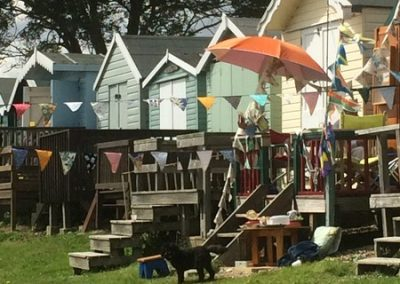 Whatever the Weather: Flags, Mersea Island, August 2017