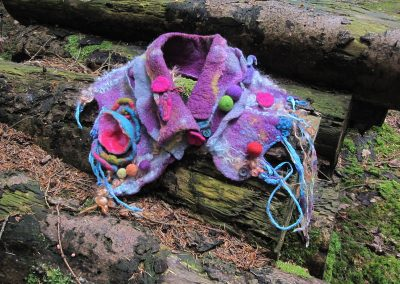 Whatever the Weather: Collars and Cuffs, Downstream Wood, May 2017